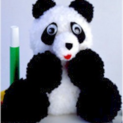 Pom Pom Panda - Kids Crafts