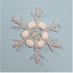 Pom Pom Snowflake - Kids Crafts