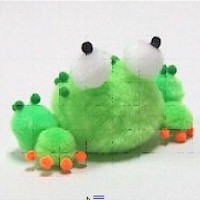 Pom Pom Frog - Kids Crafts