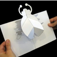 Pop Up Bug - Kids Crafts