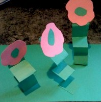 Pop Up Flower Garden - Kids Crafts