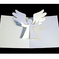 Pop Up Angel Card - Kids Crafts