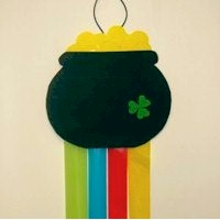 Pot O Gold Windsock - Kids Crafts
