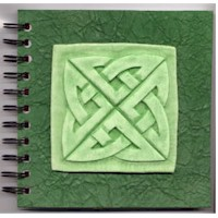 Potato Putty Celtic Journal Craft
