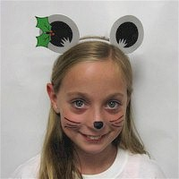 Christmas Mouse Ears - Kids Crafts