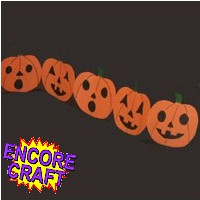 Pumpkin Garland - Kids Crafts