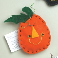 Pumpkin Magnet - Kids Crafts