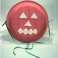 Paper Plate Jack-O-Lantern Mask - Kids Crafts