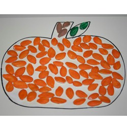 Pumpkin Seed Pumpkin - Kids Crafts
