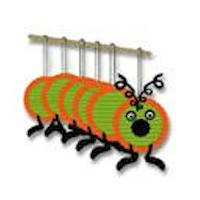 All A-Quiver Caterpillar - Kids Crafts