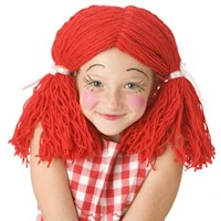 Rag Doll Wig - Kids Crafts