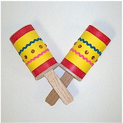Recycled Maracas - Kids Crafts