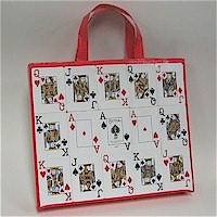 Recycled Playing Card Tote Craft