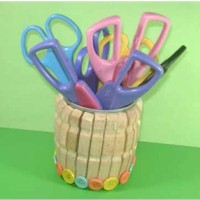 Recycled Scissors Holder Craft