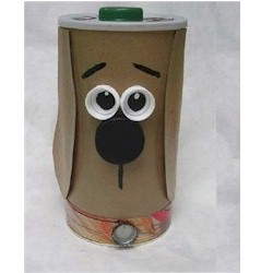 Recycled Treat Container - Kids Crafts