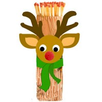рамки - Всичко от хартия и картон - Page 3 Rudolph_matchstick_holder