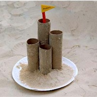 Sand Castle - Kids Crafts