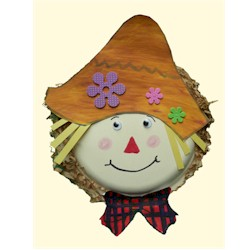 Paper Plate Scarecrow - Kids Crafts