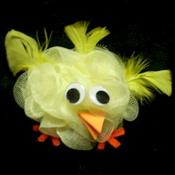 Scruffy Easter Chick - Kids Crafts