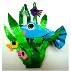 Sea Life Puppet Set - Kids Crafts