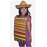 Paper Bag Serape - Kids Crafts