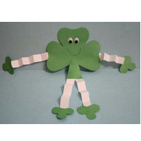 Shamrock Man - Kids Crafts