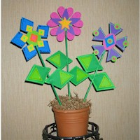 Shape Flowers Craft