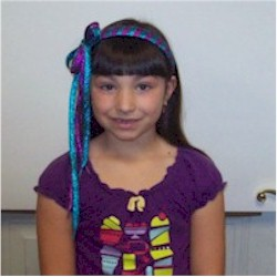 Fancy Shoelace Headband - Kids Crafts