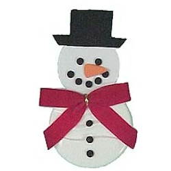 Snowman Air Freshener - Kids Crafts