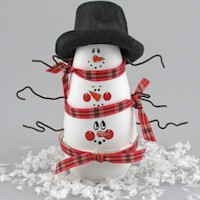 Snowman PileUp Craft
