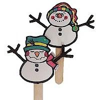 Craft Puppets boneco de neve