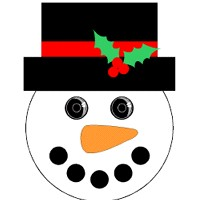 Snowman Window Watcher - Kids Crafts