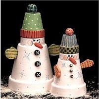 Snowmen Duo - Kids Crafts
