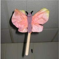 Soaring Butterfly - Kids Crafts