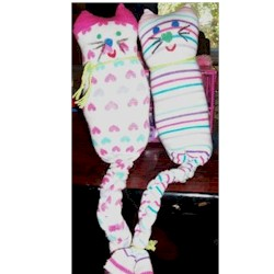 Sock Kitty - Kids Crafts