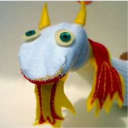 Sock Puppet Craft