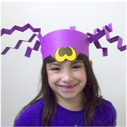 Halloween Spider Hat - Kids Crafts