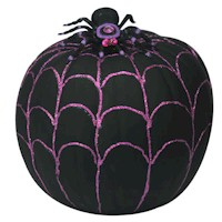 Spider Web Pumpkin Craft