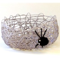 Miss Spider's Treat Basket Craft