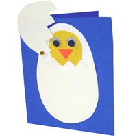 Spring Chicken Greeting Card Craft