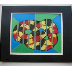 Stained Glass Snake  - Kids Crafts
