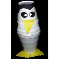 Styrofoam Cup Penguin Craft