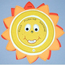 Sun Calendar - Kids Crafts