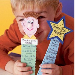 Super Reader Bookmark Craft
