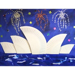 Sydney Opera House - Kids Crafts