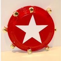 tambourine paper plate music craft preschool education for kids