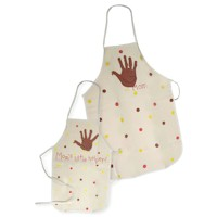 Mom and Me Thanksgiving Apron - Kids Crafts