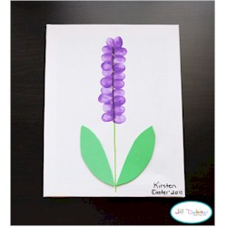 Thumbprint Hyacinth - Kids Crafts