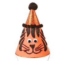 Tiger Party Hat Craft
