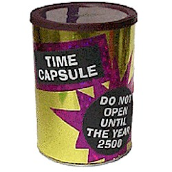 Time Capsule - Kids Crafts